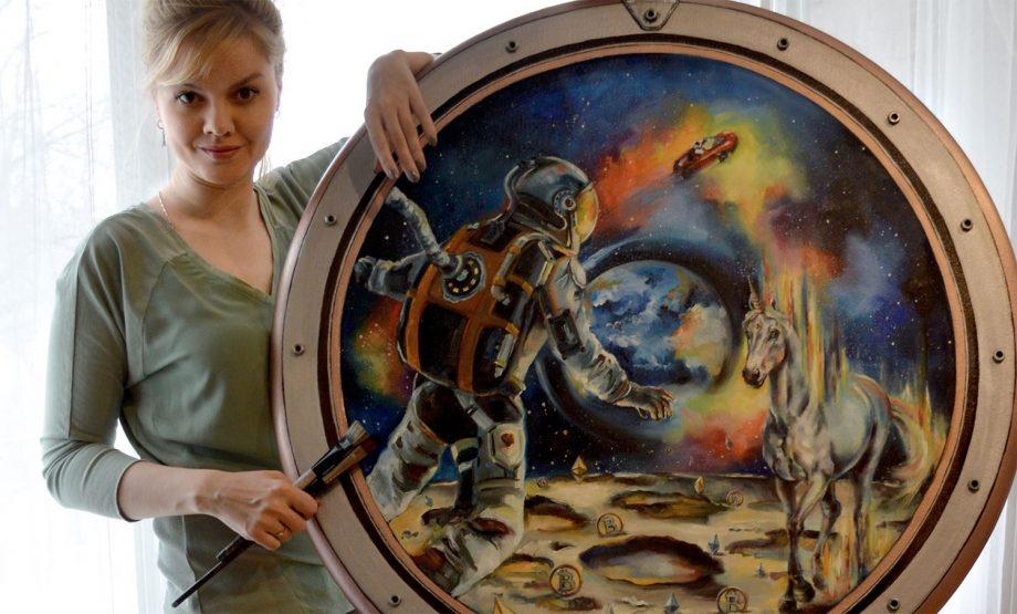 Nelly Baksht, crypto artist