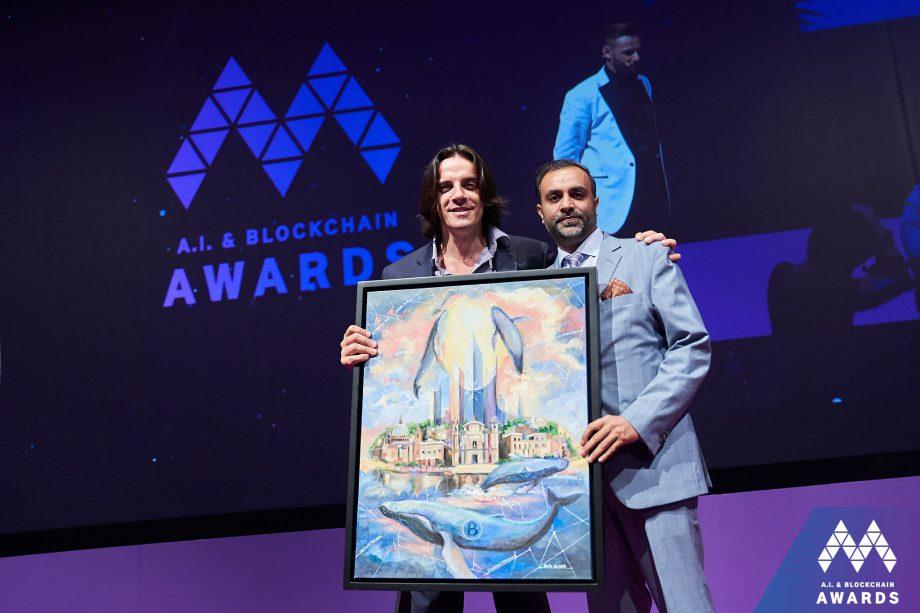 Crypto art Blockchain Island M auction
