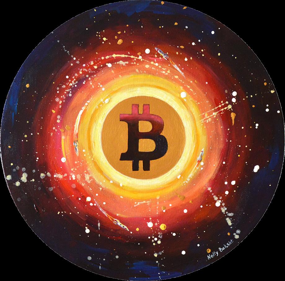 Crypto art BTC2 by Nelly